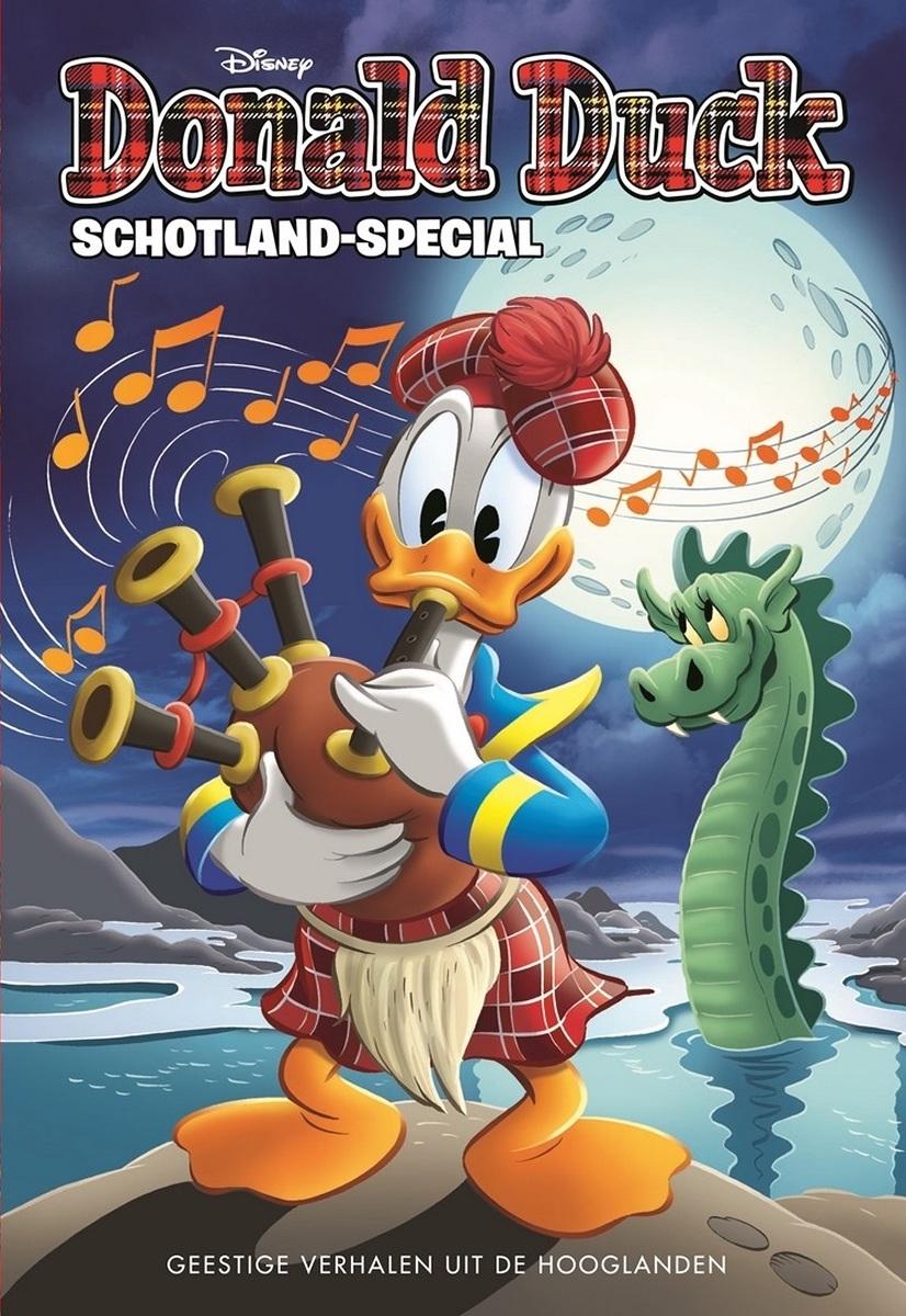 Afbeeldingsresultaat voor donald duck schotland special