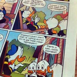 Deze week is Donald Duck in Gelderland!