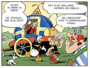 Donald Duck in Gallië